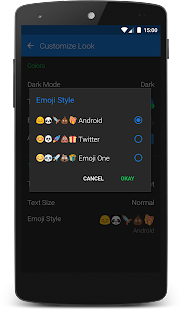 Textra Emoji – Android Style