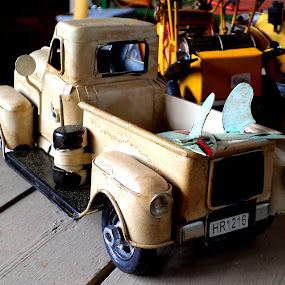 toy tin car by Nicole Janse van Vuuren - Artistic Objects Toys