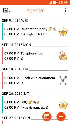 ASUS Calendar screenshot 2