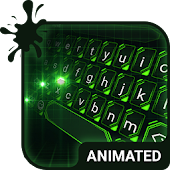 Green Light Animated Keyboard APK for Lenovo