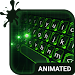Green Light Animated Keyboard and Live Wallpaper Icon