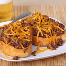 1. Cheesy BBQ Sloppy Joes