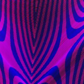 Zebra skin by Jim Barton - Abstract Patterns ( laser light, colorful, light design, zebra skin, laser design, laser, zebra, laser light show, light, science )