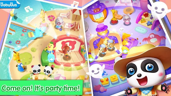 Baby Pandas Theme Party  Halloween amp Beach Party Für PC Windows & Mac
