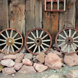 Three Wheels by Diane Garcia - Artistic Objects Antiques ( nelson )