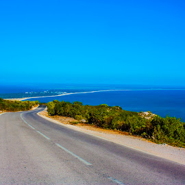 Road to the Beach by Paulo Lopes - Landscapes Travel ( arrabida, sea, road, beach, portugal )