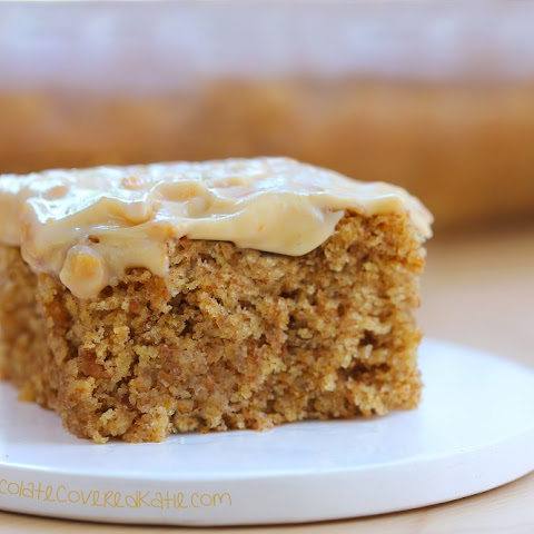 Frosted Peanut Butter Snack Cake
