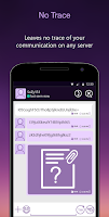Screenshot of StealthChat: Private Messaging