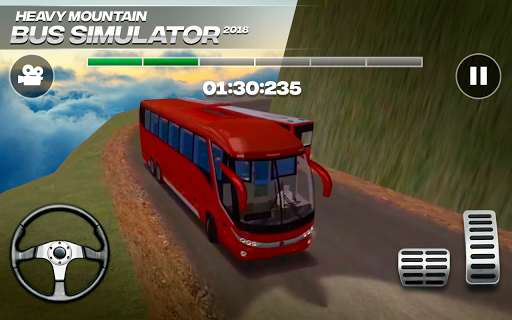 Heavy Mountain Bus Simulator 2018 For PC