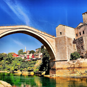 Mostar by Francis Xavier Camilleri - City,  Street & Park  Historic Districts (  )
