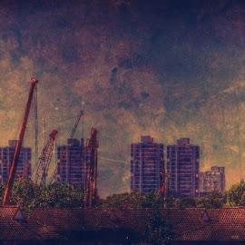 Looking towards Camberwell by Jonny Wood - City,  Street & Park  Skylines