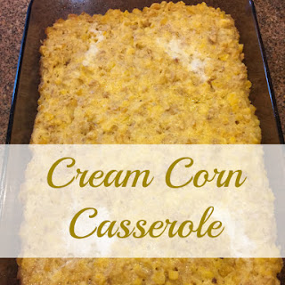 Creamed Corn Ritz Recipes