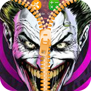 Download Joker zipper lock screen For PC Windows and Mac