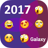 Galaxy Keyboard Emoji Plugin - The vast galaxy APK for Blackberry