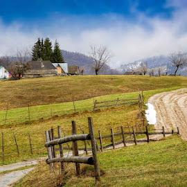 by Panait Sorin - Landscapes Mountains & Hills ( hills, road, landscape )
