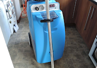 professional machine used for carpet clenaing