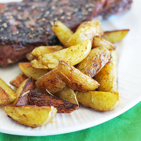 Baked Seasoned Potato Wedges