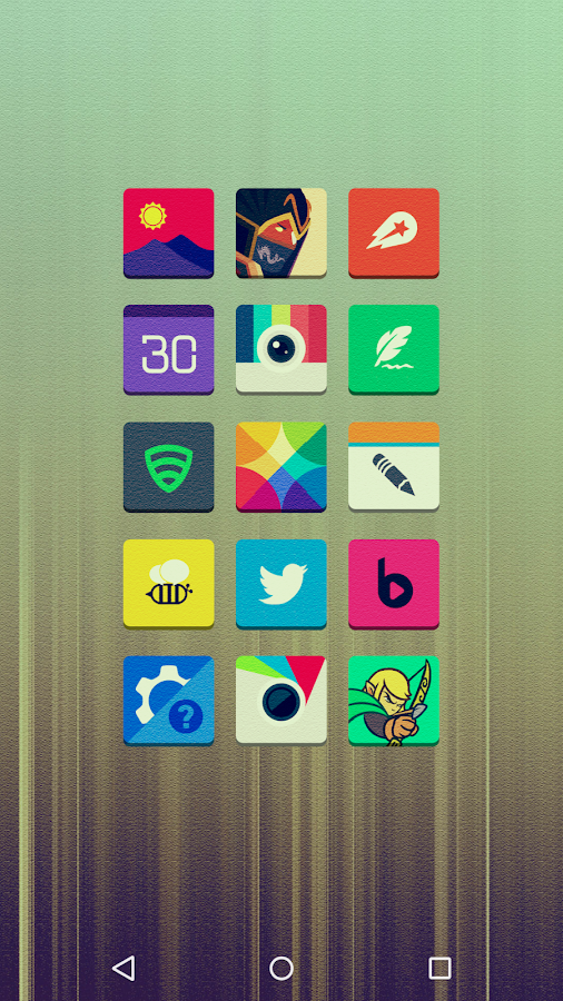 Tenex - Icon Pack Screenshot 4