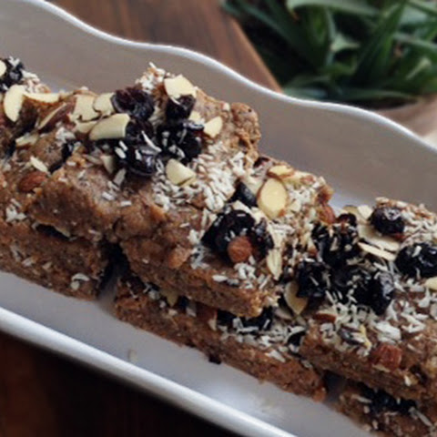 Cranberry Almond Power Bars