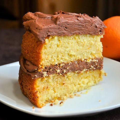 Orange Cake With Orange Buttercream Frosting Recipes   Yummly