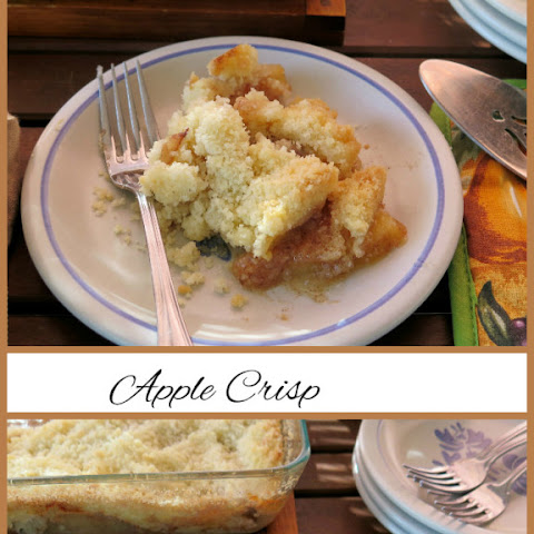 Apple Crisp #SundaySupper