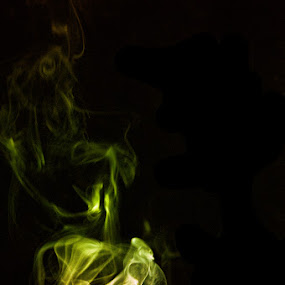 Smoke #4 by Tyhe Reading - Abstract Fine Art ( colour, pentax, light, smoke )