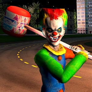 Crazy Scary Clown Simulator Game Online PC (Windows / MAC)