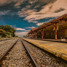 Destination by NC Wong - Buildings & Architecture Public & Historical ( railway, hua hin )