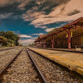 Destination by NC Wong - Buildings & Architecture Public & Historical ( railway, hua hin )