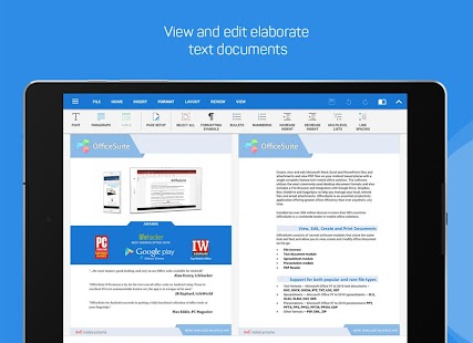 App OfficeSuite + PDF Editor version 2015 APK