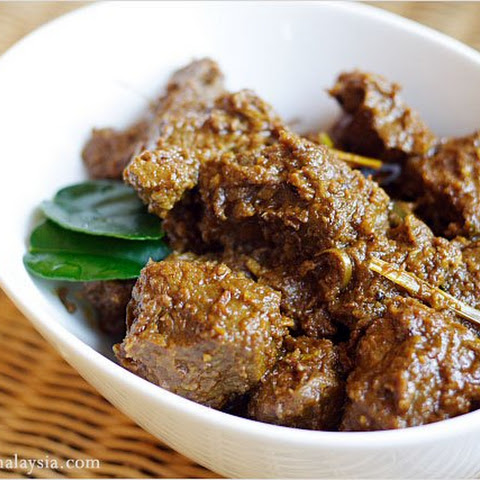 Beef Rendang (Rendang Daging) or Spicy Beef Stew with Coconut