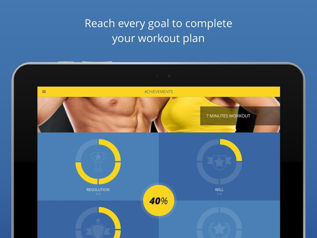 P4P 7 Minute Workout PRO Screenshot 7
