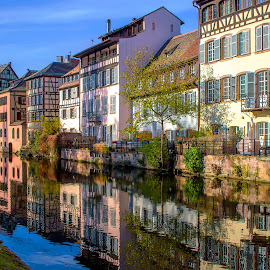 strasbourg by Christian Heitz - City,  Street & Park  Historic Districts