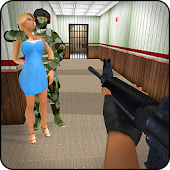 Modern Action Commando FPS Icon