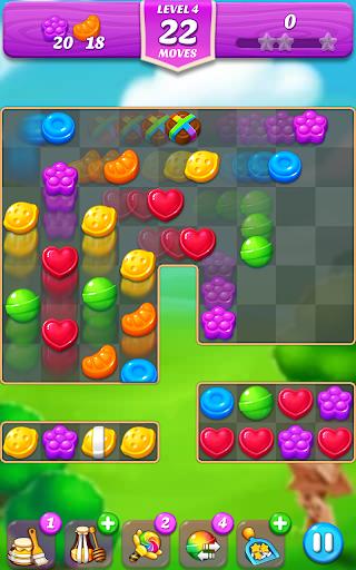 Lollipop & Marshmallow Match3 screenshot 2