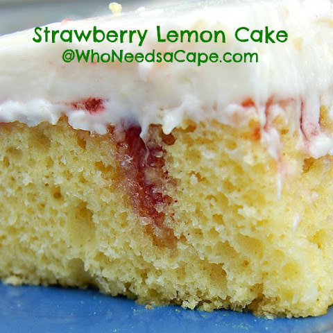 Strawberry Lemon Cake