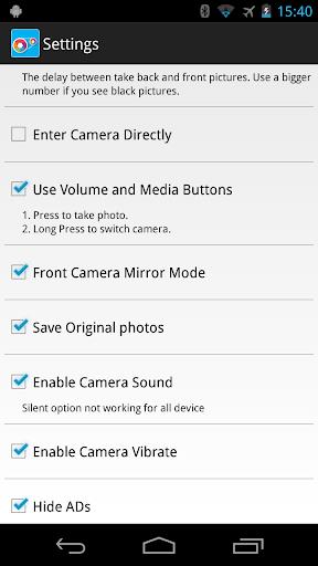 Smart Dual Camera Pro - screenshot