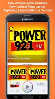 Screenshot of iPower 92.1 - Richmond