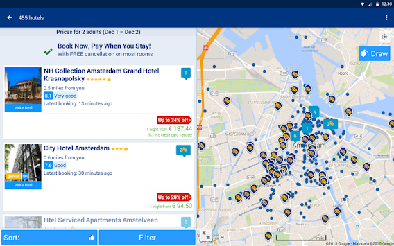 Booking.com Hotel Deals APK screenshot thumbnail 11