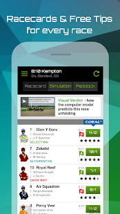 The Racing App - screenshot