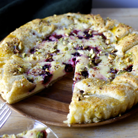 Blackberry Cheesecake Galette