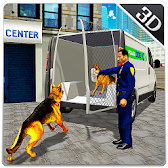 Police Dog Transport Truck Sim APK Icon