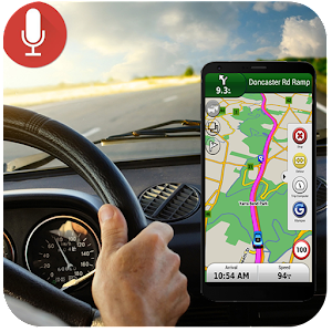 Voice GPS Navigation amp Maps Tracker for PC / Windows & MAC