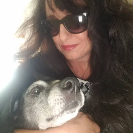 Tippy and Me! by Anne LiConti - Instagram & Mobile Android ( #phonephoto, #seniordogs, #mobilephoto, #adoptseniordoga, mobilephotography, #seniordogsrock, #phonephotography, #android )