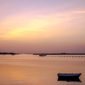Sunset of Al Rams by Adam dela Pedra - Landscapes Sunsets & Sunrises
