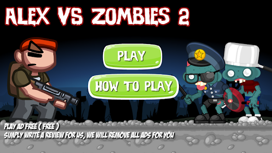 Super Alex VS Amazing Zombie 2- screenshot
