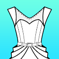 App Fashion Design Flat Sketch apk for kindle fire