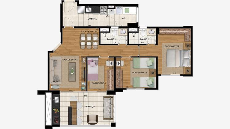Apartamento à Venda - Vila Vera