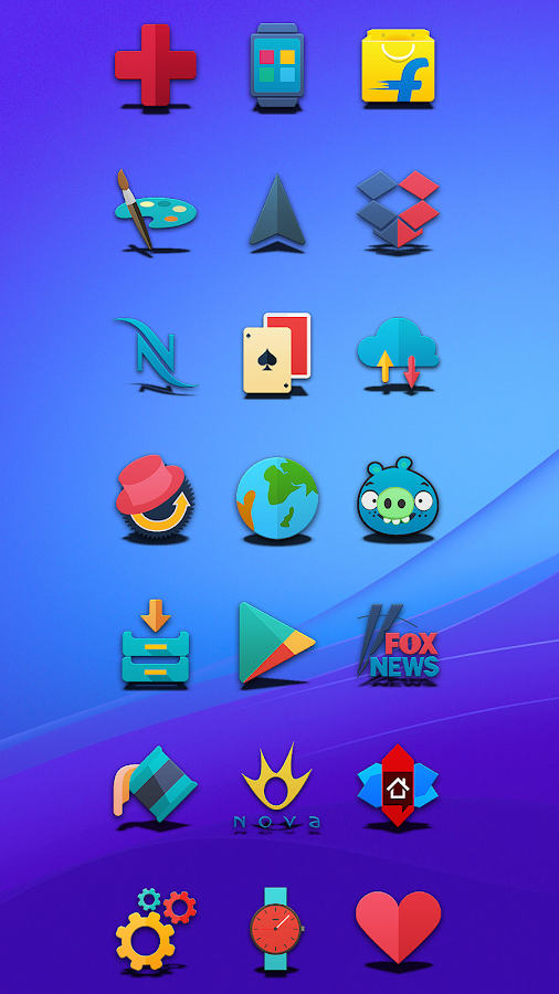 Proton - Icon Pack Screenshot 2