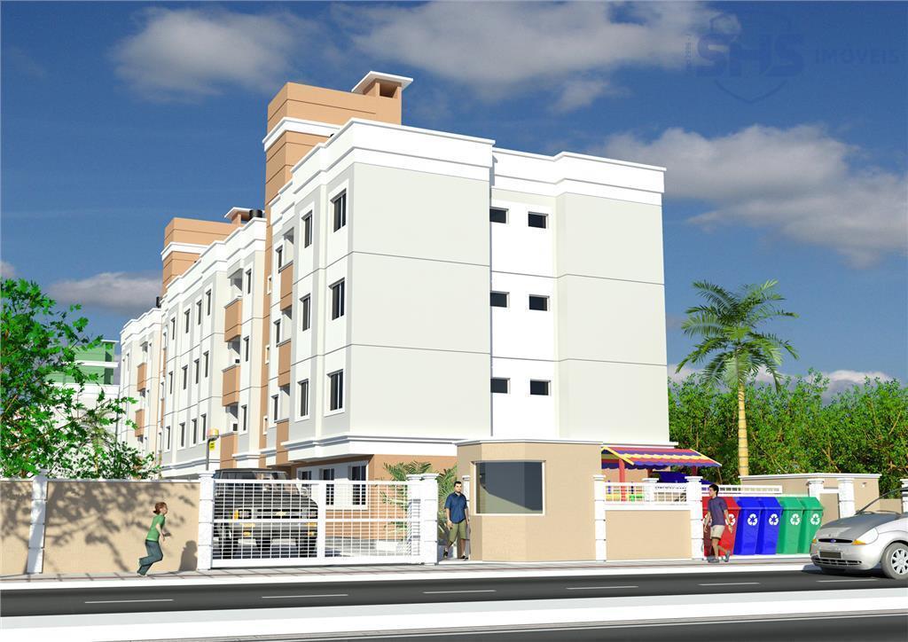 Apartamento com 2 dormitórios para alugar, 52 m² por R$ 900/mês - XV de Novembro - Tijucas/SC